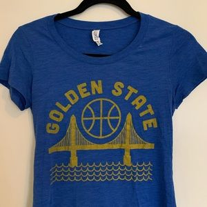 Bella Canvas Tops - Golden State Warriors Tee